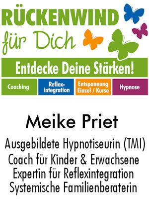 Coaching, Hypnose, Reflexintegration Meike Priet